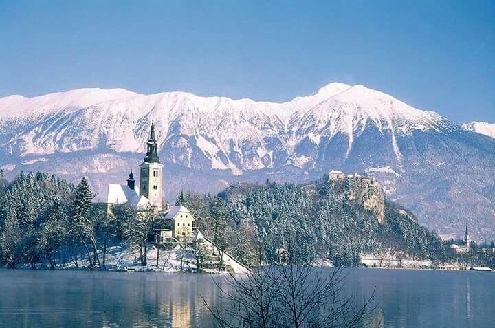 La ciudad de Bled en Slovenia