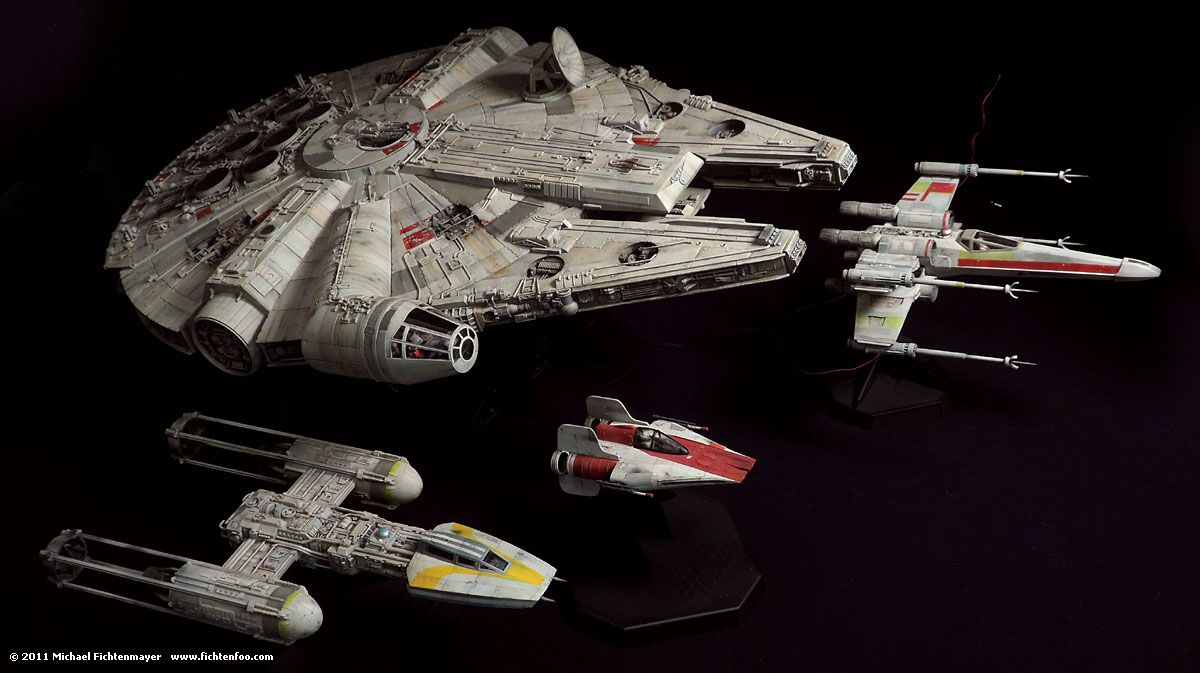 Completed » X-Wing and Y-Wing | FichtenFoo