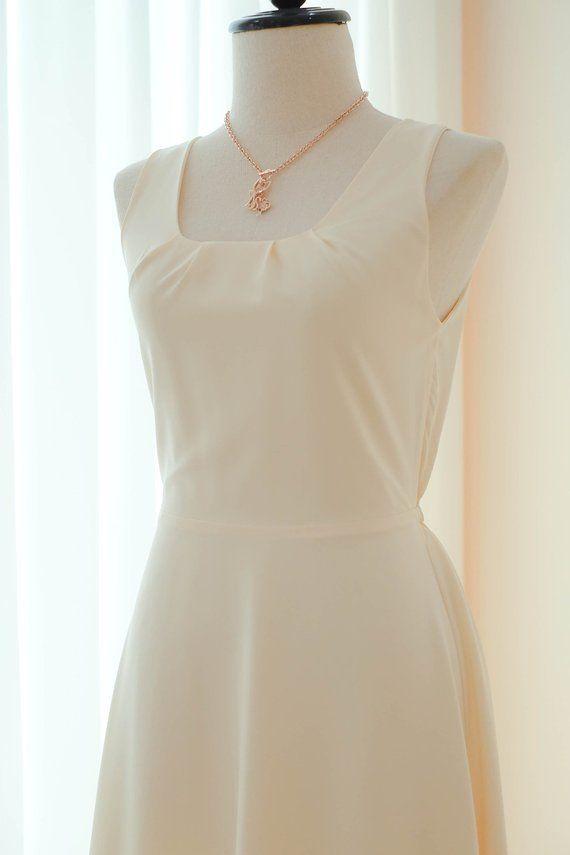 d8d4889eb1a6 Butter dress Yellow Long Bridesmaid dress Wedding Dress Long Prom ...