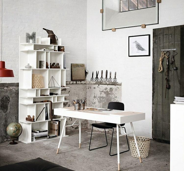 Home Office im industriellen Stil – 15 Ideen mit modernem Flair ...