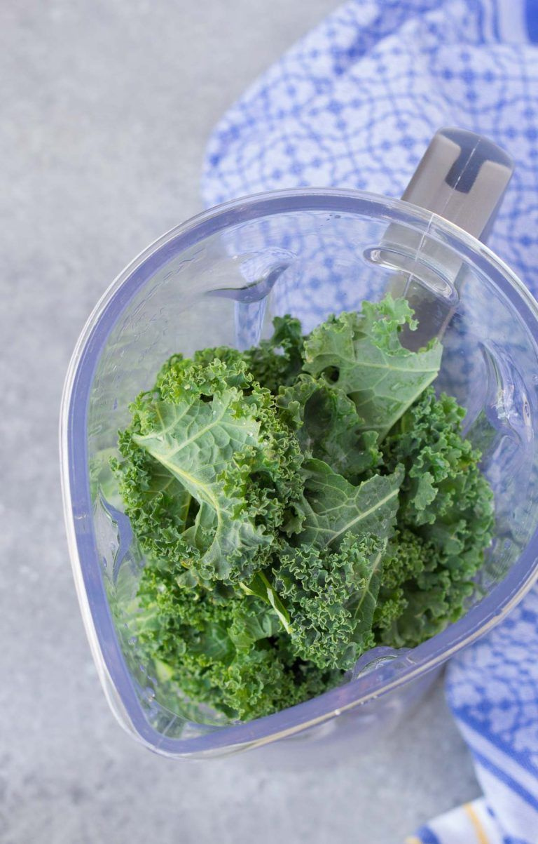The BEST way for how to wash and store kale, so that it