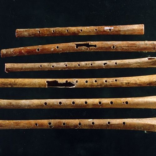 Recording of a bone flute found in China at 9,000-year-old ...
