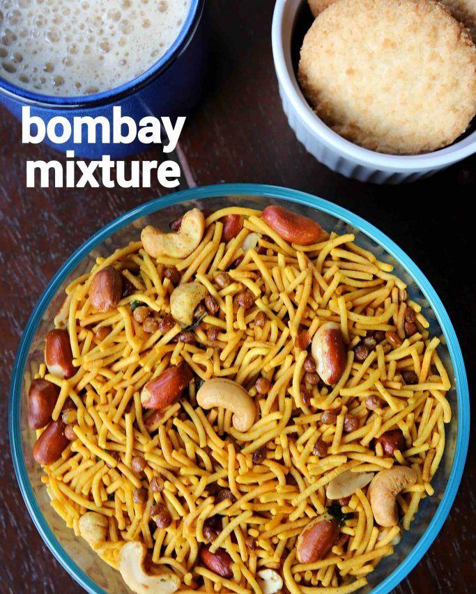 """Hebbar's Kitchen on Instagram: """"bombay mixture namkeen ..."""