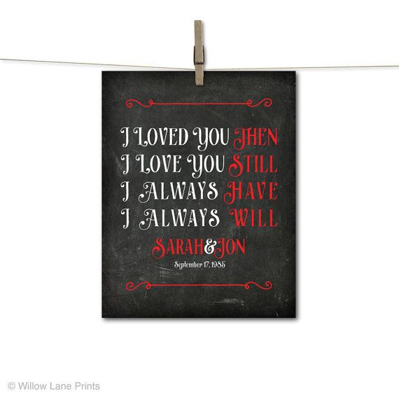 40th Anniversary Gifts For Wife 40th Wedding By Willowlaneprints