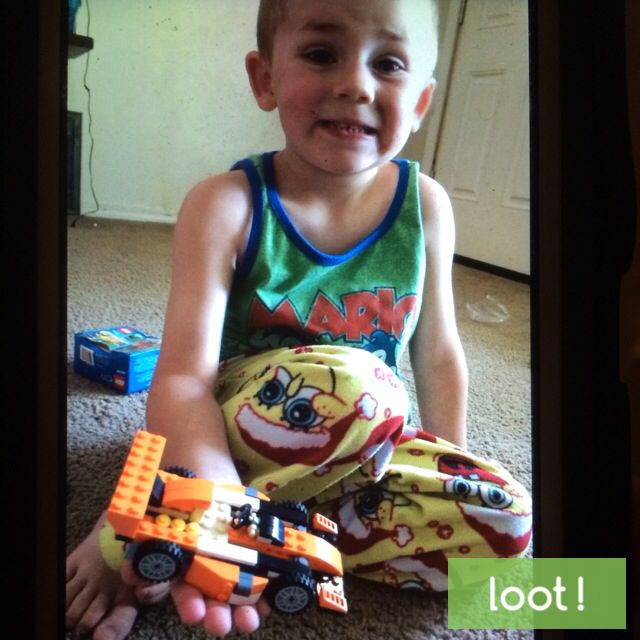 Get creative with your LEGOs and take a picture of the coolest thing you can build. http://earn.loot-app.com/#contest/VfmHWt0lam
