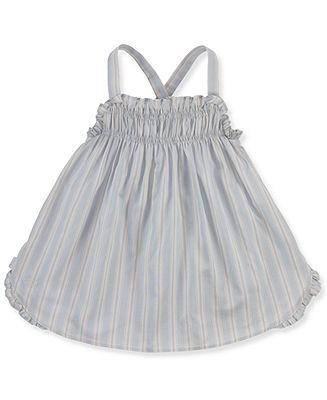 Ralph Lauren Baby Romper, Baby Girls Striped Romper - Kids Baby Girl (0-24 months) - Macy's