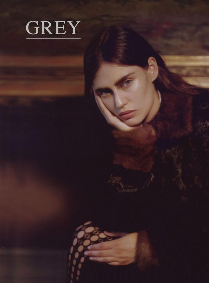 Grey Magazine F/W 12 Five Covers (Grey Magazine (Italy))