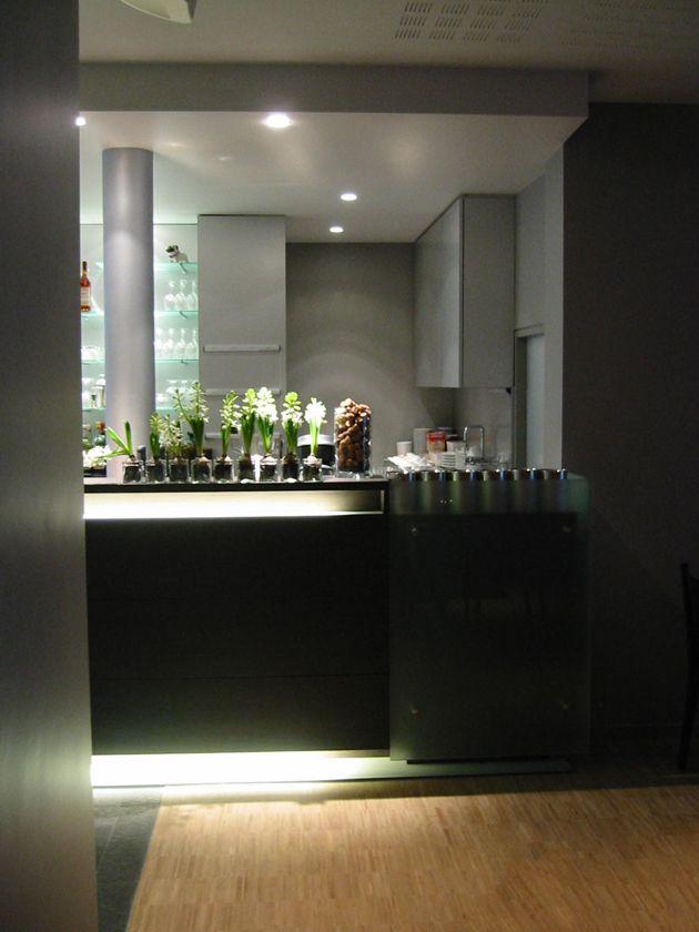 interieur restaurant Vilvoorde - toog