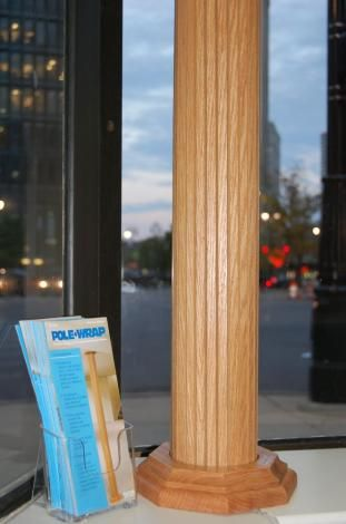 Lally column cover ideas - Pole-Wrap Photo Galleries & Lally column cover ideas - Pole-Wrap Photo Galleries | Basement bars ...