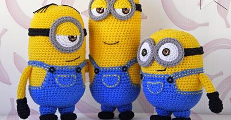 Amigurumi Minion Tarifi : Amigurumi minion modeli yapımı amigurumi free pattern and crochet