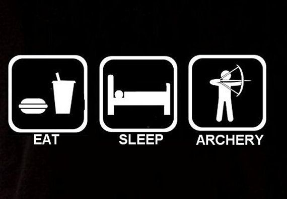Funny Eat Sleep Play Archery Tshirt Gift Unisex By Designdepot123 13 90 Archery Archery Girl Hunting Girls