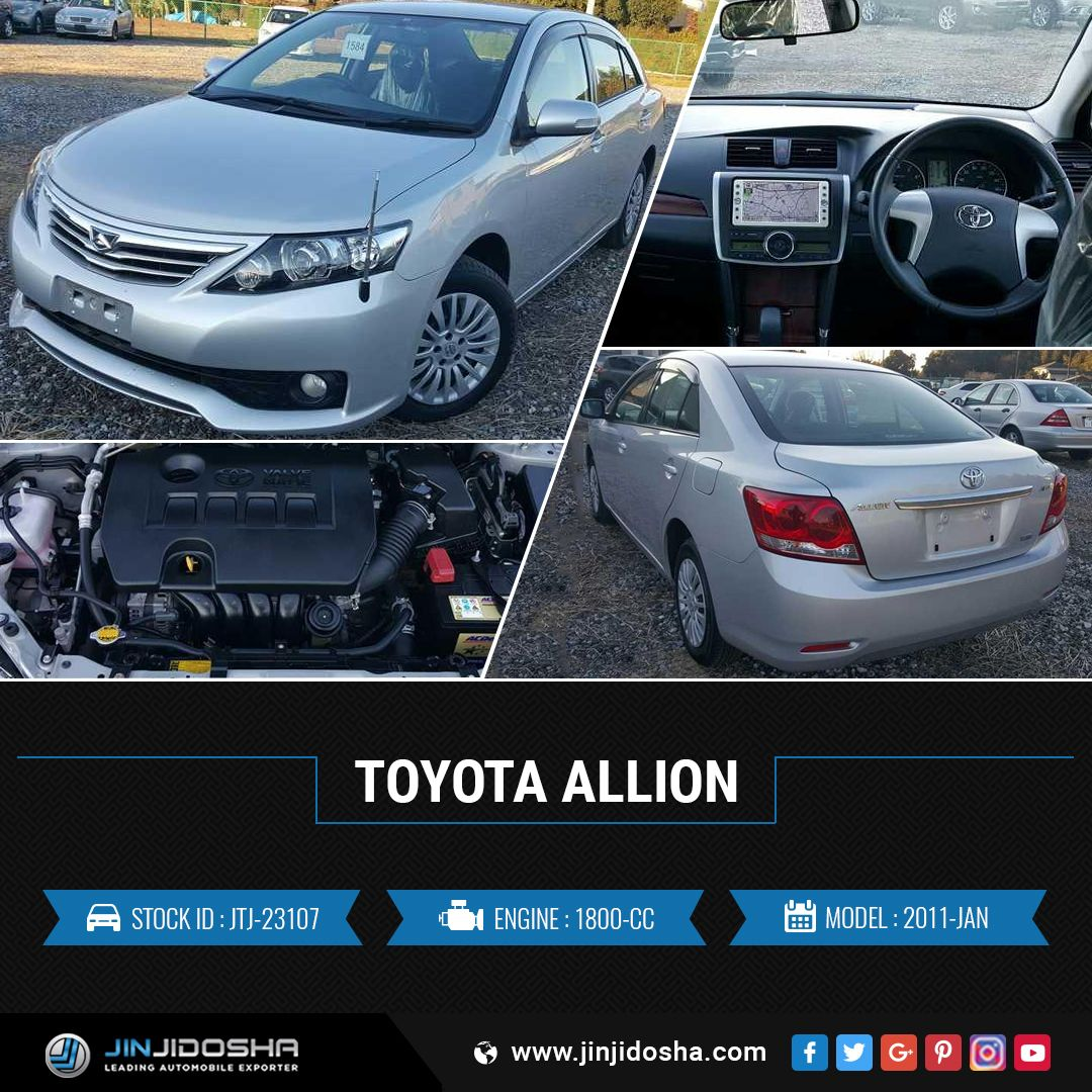 Buy Your Toyota Allion 2011 Now! JinJidosha Japan