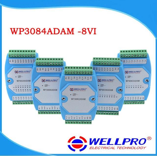 WP3084ADAM ( 8VI ) _ 0-10V analog input module / RS485