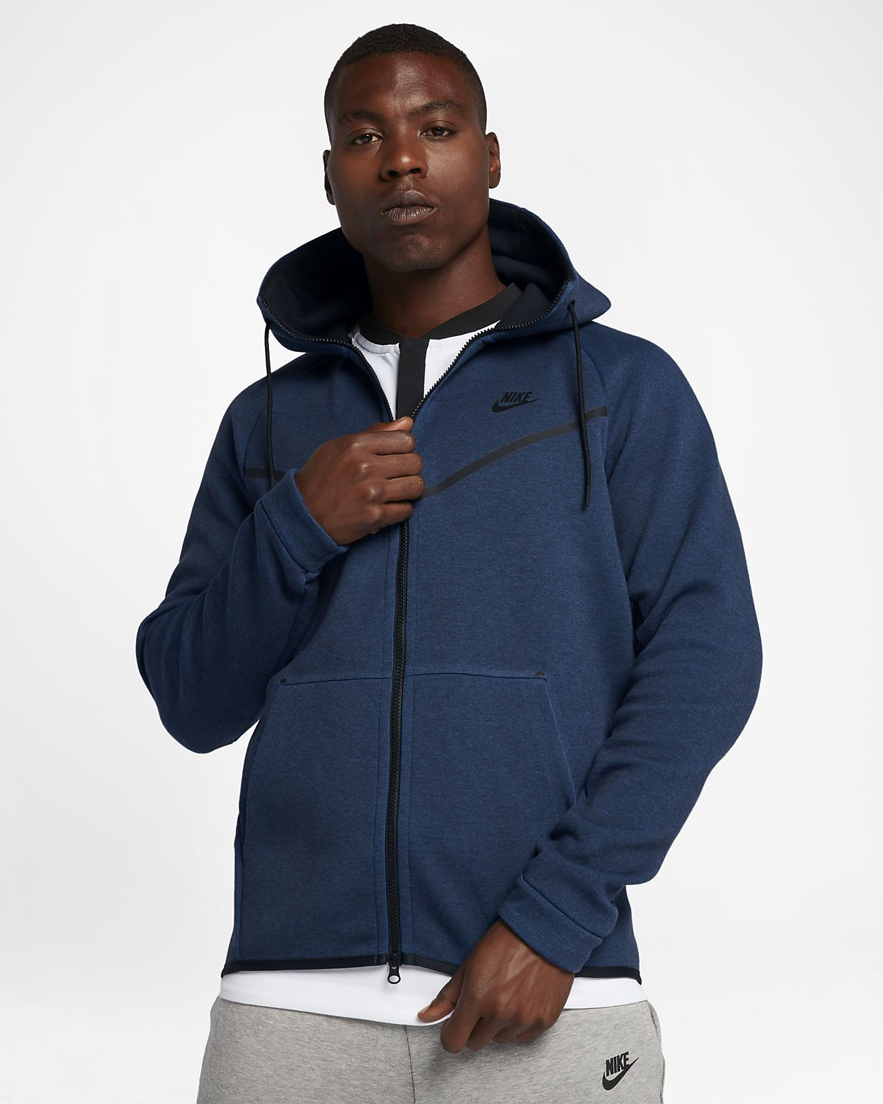 31258f93 Nike Sportswear Tech Fleece Windrunner Men's Full-Zip Hoodie ...