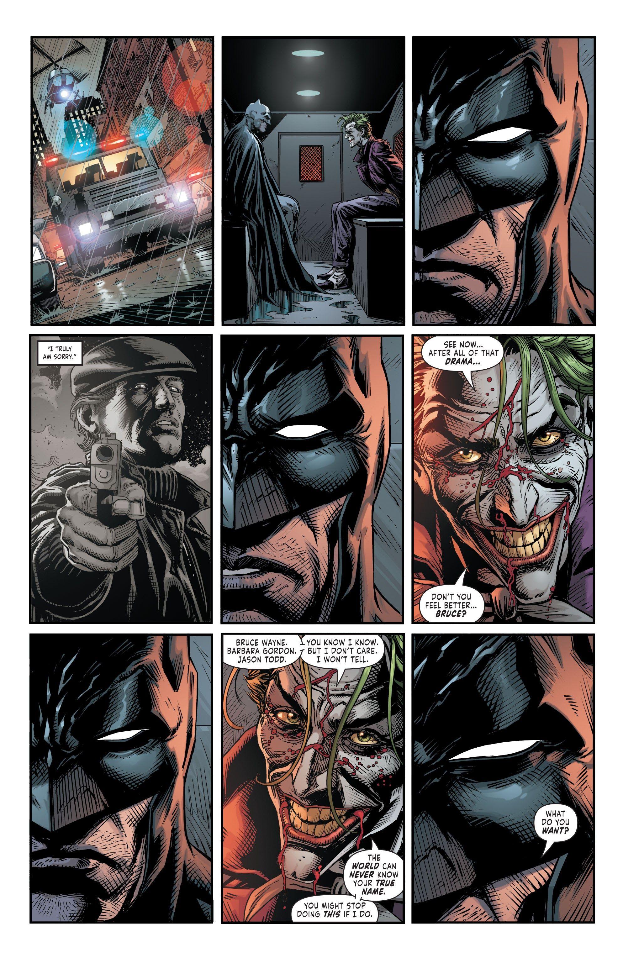 Batman: Three Jokers #3 (A). Geoff Johns. Jason Fabok. Batman. Bruce Wayne.  Joker. | Joker art, Batman, Batman joker
