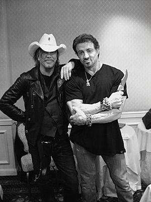 2ec4a081b1e Mickey Rourke   Sylvester Stallone~