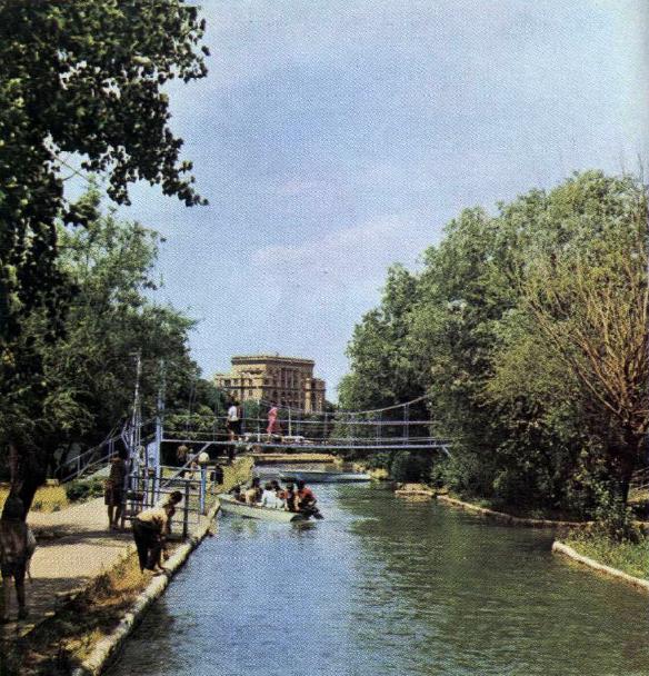 Bakinskaya Malaya Veneciya Kicik Venetsiya Səhərciyi Nachalo 1970 H Godov Photo Historical Photos Canal