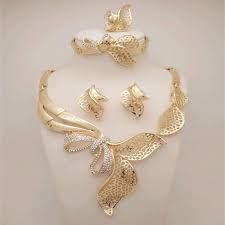 Image Result For Gold Necklace Designs In Saudi Arabia Gold Plated Jewelry African Beads Gold Jewelry Fashion