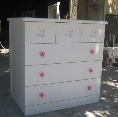 muebles de bebe: cuna, para colchón 70 x 140 toda madera nativa ...