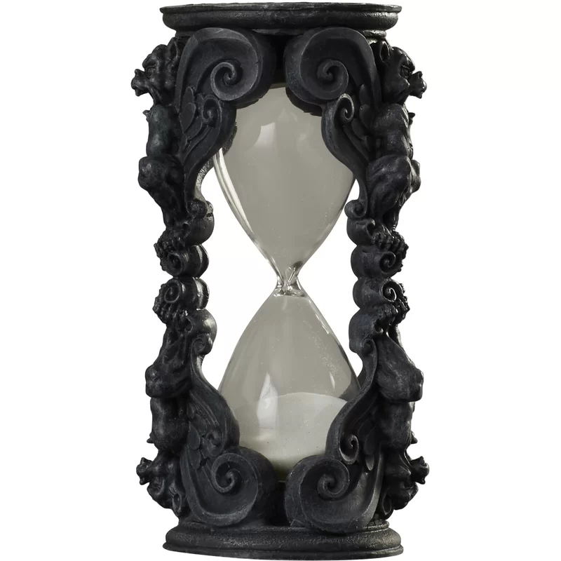 Photo of Gothic Grains of Time Gargoyle Hourglass