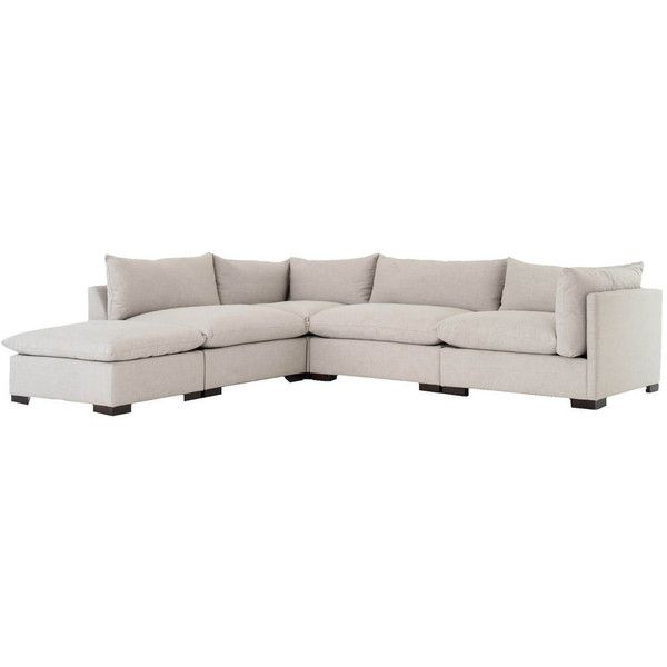 Zin Home Modular Sectional Sofas On Features Individual Pieces Bennett Charcoal Grey Upholstery Deep Low Seats Soft Back
