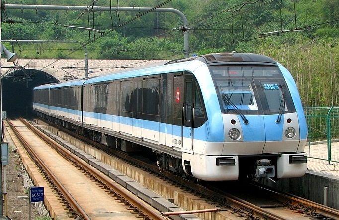 Japan Namjing Alstom blue line
