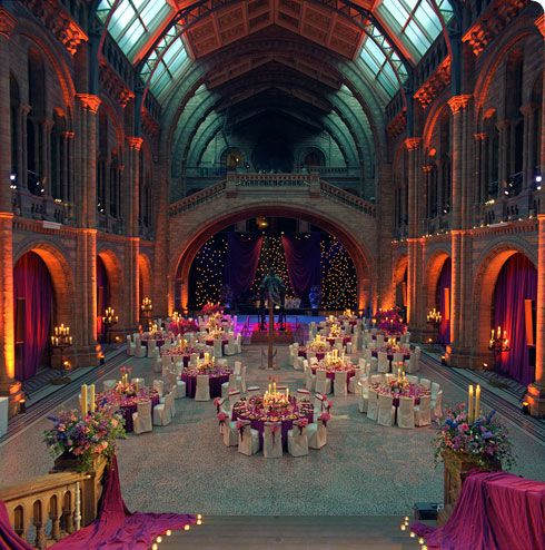 Natural History Museum London Wedding Cost