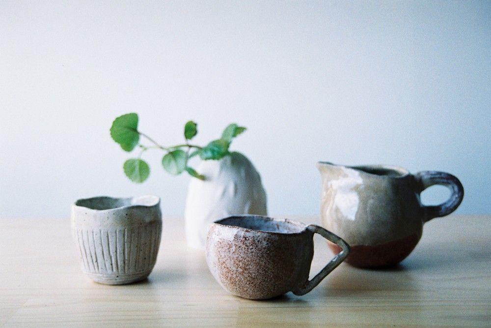 MR KITLY — Shino Takeda tea set