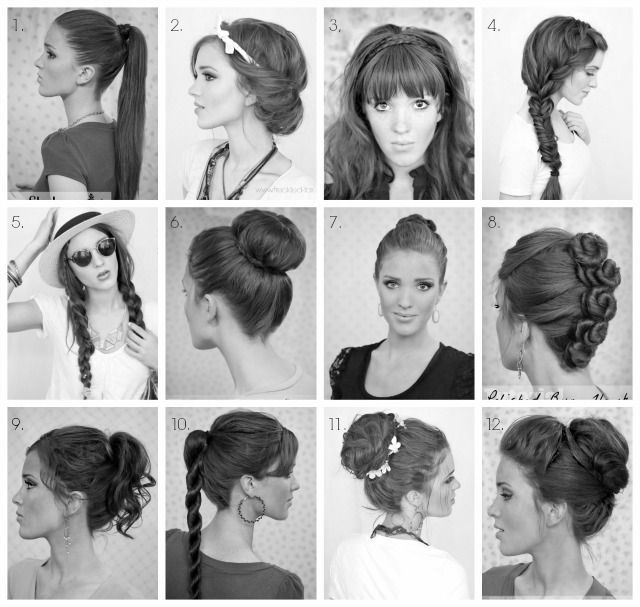 Back to School Hairstyle Round-up (The Freckled Fox) | School ...