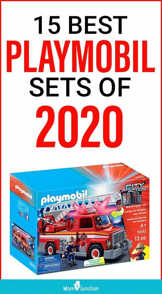 One of the best kinds of toys there is, Playmobil sets are imaginative, clean, and include various types of themed play to combine learning and playing. They were created by German toymakers and they keep your kids hooked to the toys with their colorful and engaging details.