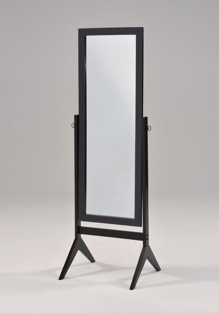 Amazon Com Black Finish Wooden Cheval Bedroom Free Standing Floor Mirror Floor Mirror Bedroom Flooring Black Carpet Bedroom