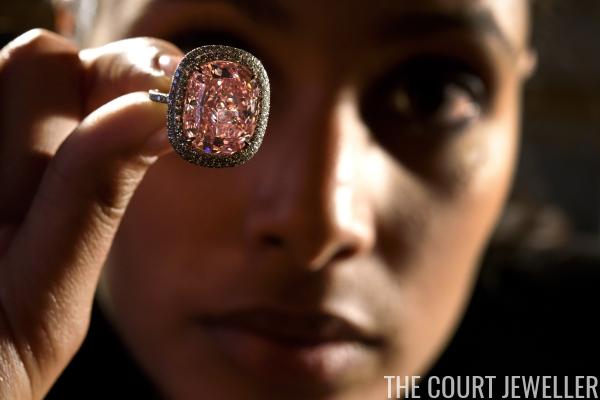 The Sweet Josephine Pink Diamond Ring | The Court Jeweller
