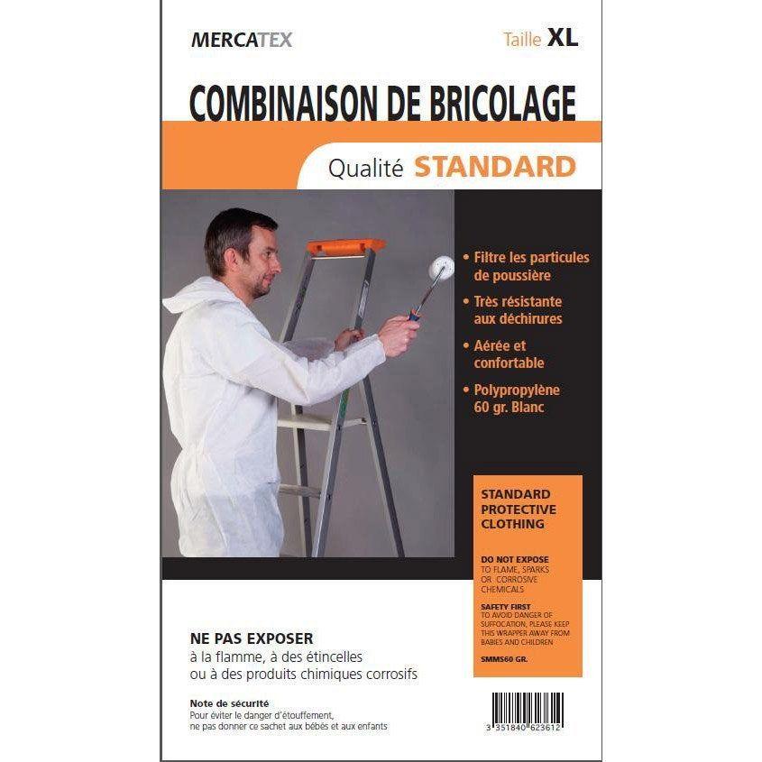 Combinaison De Bricolage Xl Mercatex Bricolage Ruban De Masquage Et Eclaboussure