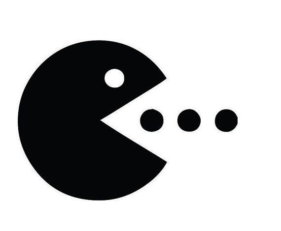 Pac Man Custom Vinyl Graphic Decal Sticker Art By VinylGrafix - Custom vinyl decals york pa