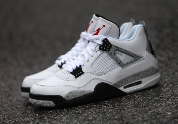 ae3d5c43a5cf88 A Restock Of The Air Jordan 4 OG 89 White Cement Is Going Down This Week