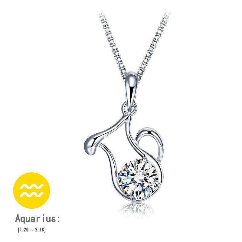 Womens zodiac pendant necklace 12 styles jewelry pinterest womens zodiac pendant necklace 12 styles mozeypictures Gallery