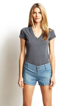 BCBGeneration  Blue Denim Shorts