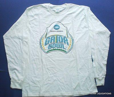 2008 Konica Minolta Gator Bowl Gildan Long Sleeve Cotton T