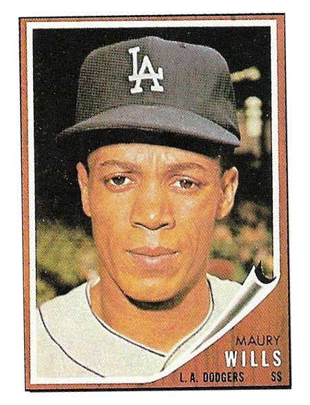 1962 Topps Maury Wills Card That Never Was