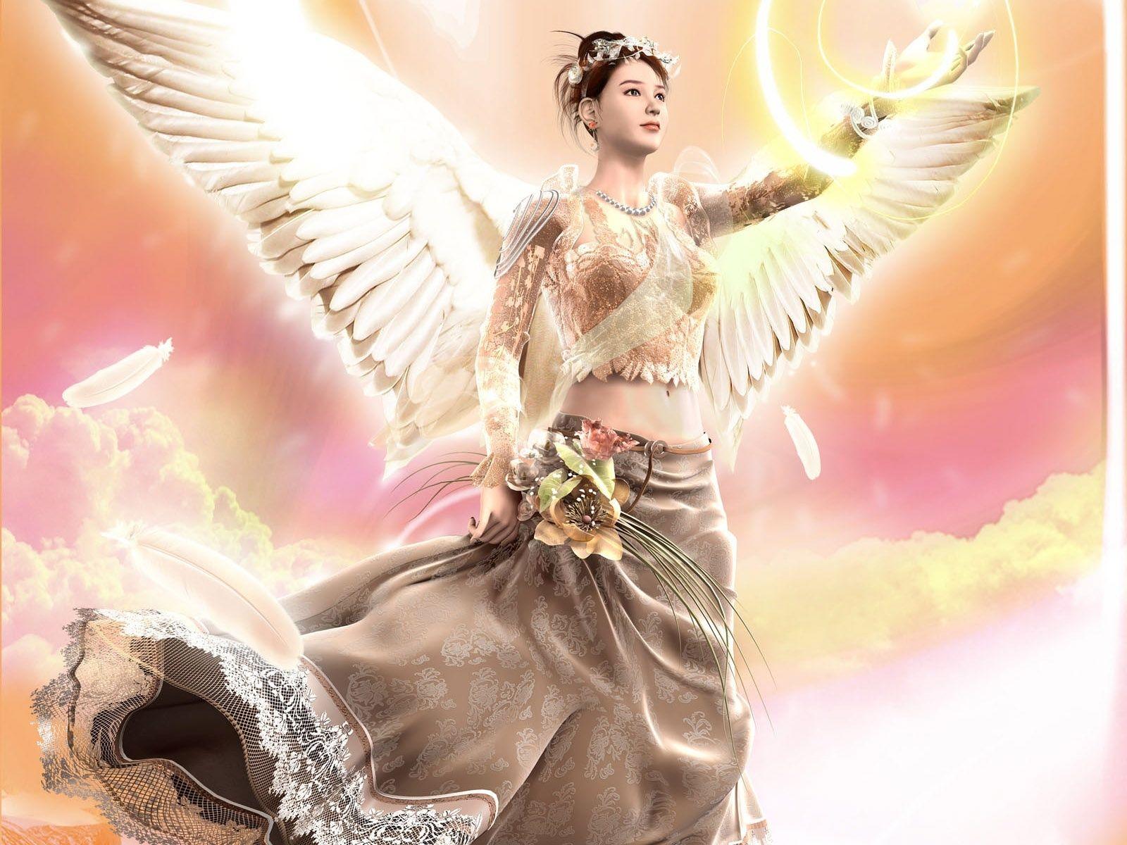 Alas Magicas Wallpapers Rosas Hadas Y Celestial