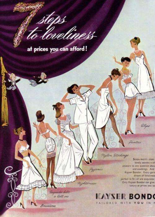 Image result for Kayser Lingerie 1900 | stocking ads | Pinterest