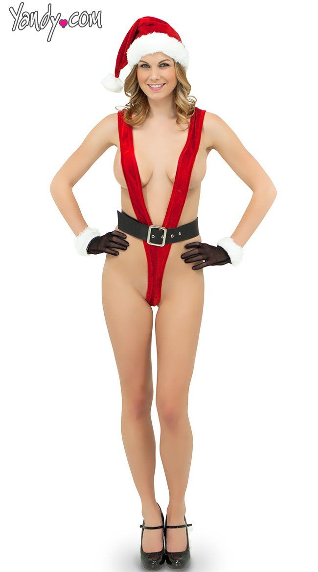 6afbe01b3da Pin for Later  You Can t Unsee These Sexy Christmas Costumes G-String Santa