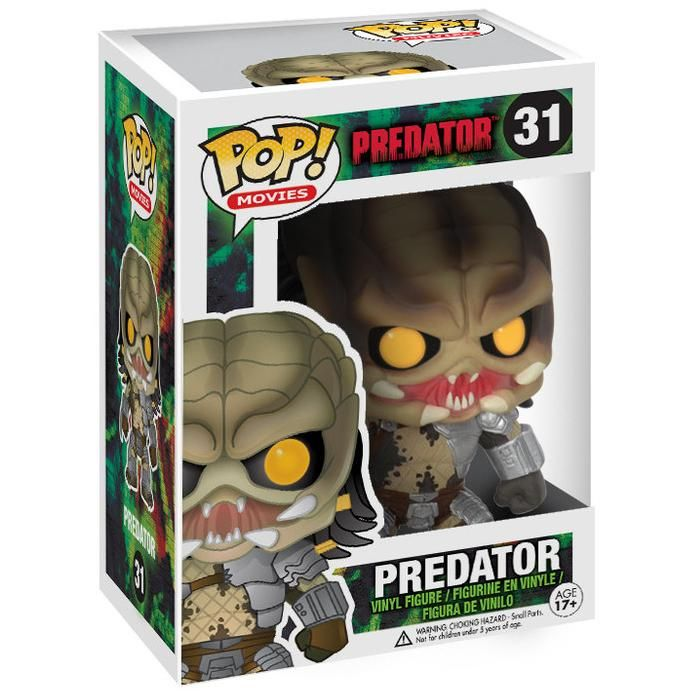 Predator - Funko Pop!- Predator.  - samlerfigur. - ca. 10 cm høj. - figur nr. 31