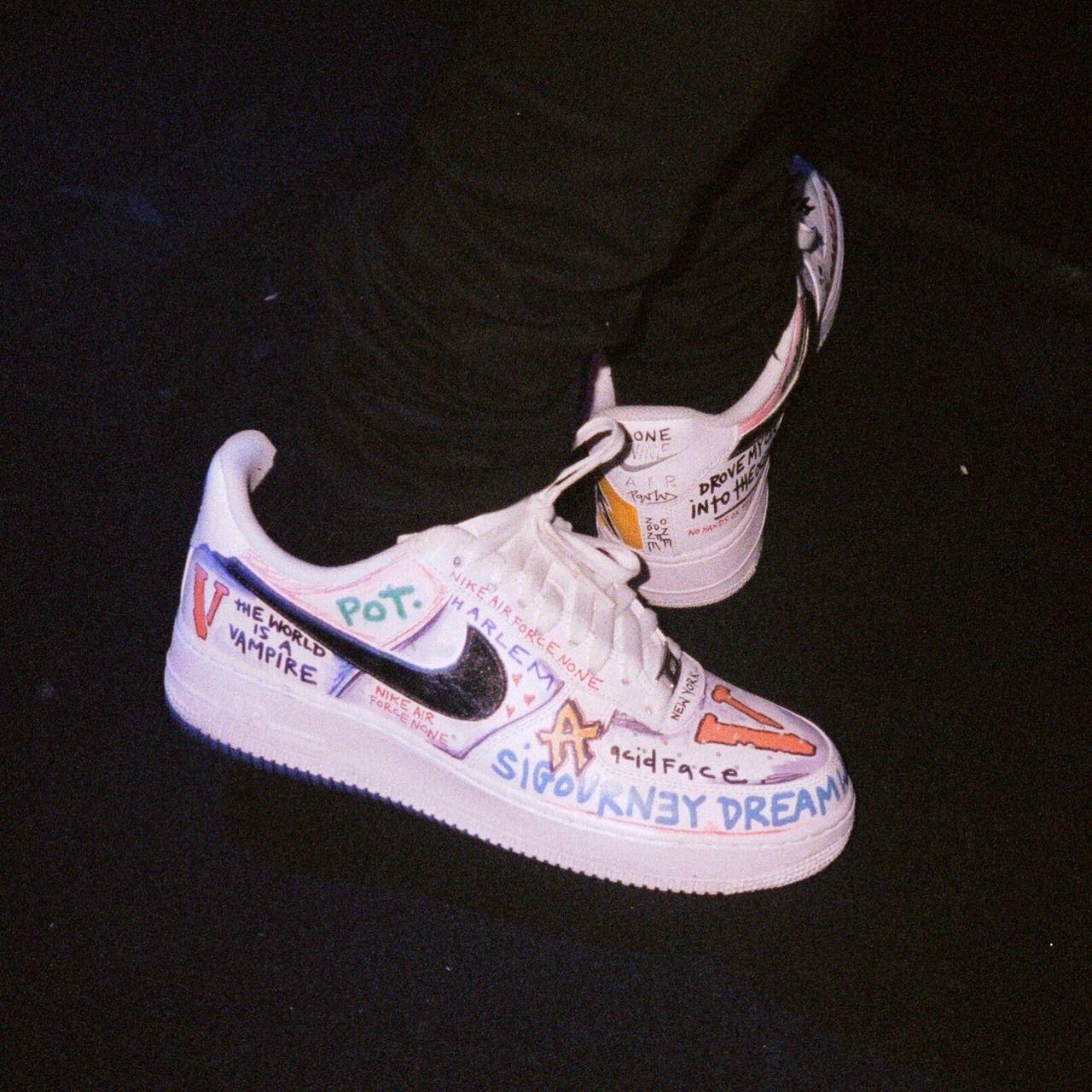 Fashion Shoes A (With images) Custom nike shoes, Nike