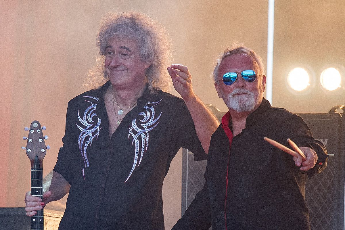 Brian May Explains Queen Drummer Roger Taylors British Honor Achievement For His Services To Music Queen Drummer Roger Queen Drummer Queen Guitarist Brian May
