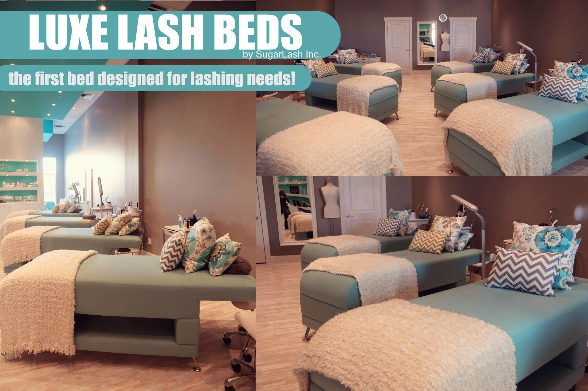 Sugar Lash Luxe Lash Bed Home beauty salon, Treatment