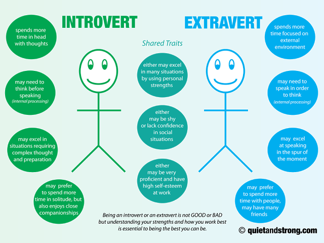 extrovert and introvert This article explores the social extroverted mask that many introverts adopt  written from the perspective of an extroverted introvert.