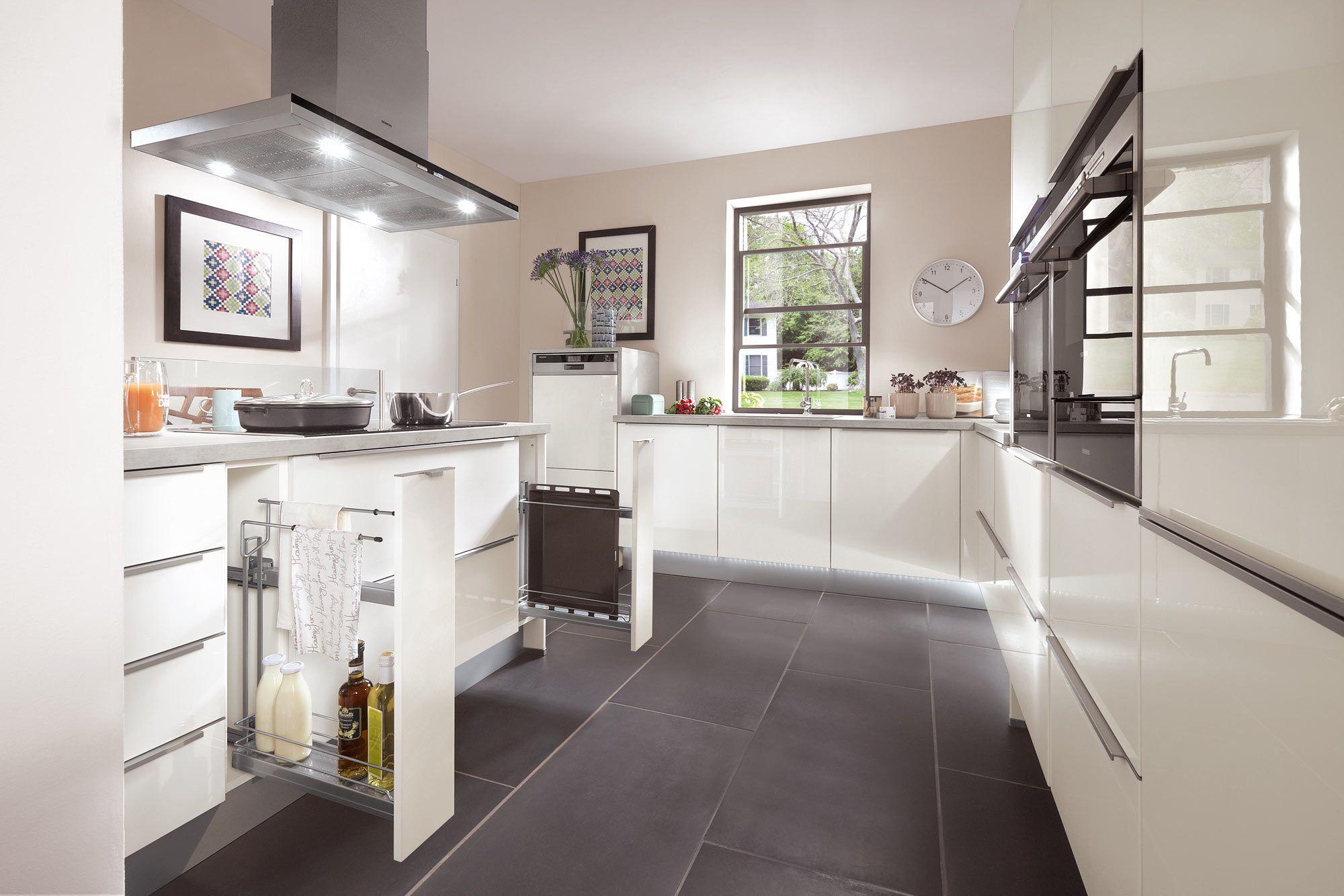 apothekerschrank norina9555 einbauk che wei hochglanz lack k che pinterest einbauk che. Black Bedroom Furniture Sets. Home Design Ideas