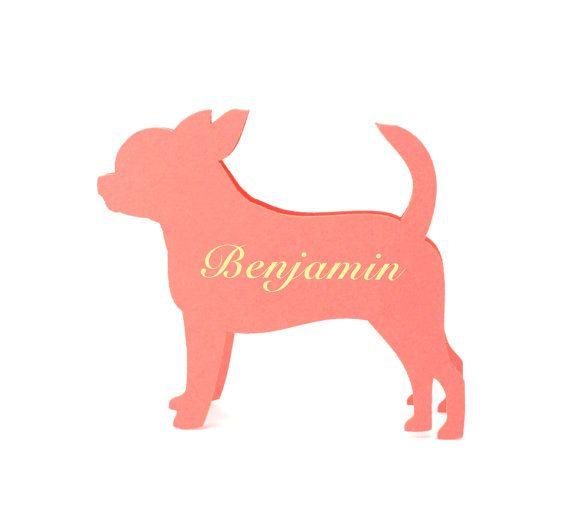 View dog / pet place cards by JonNiPaperGoods on Etsy