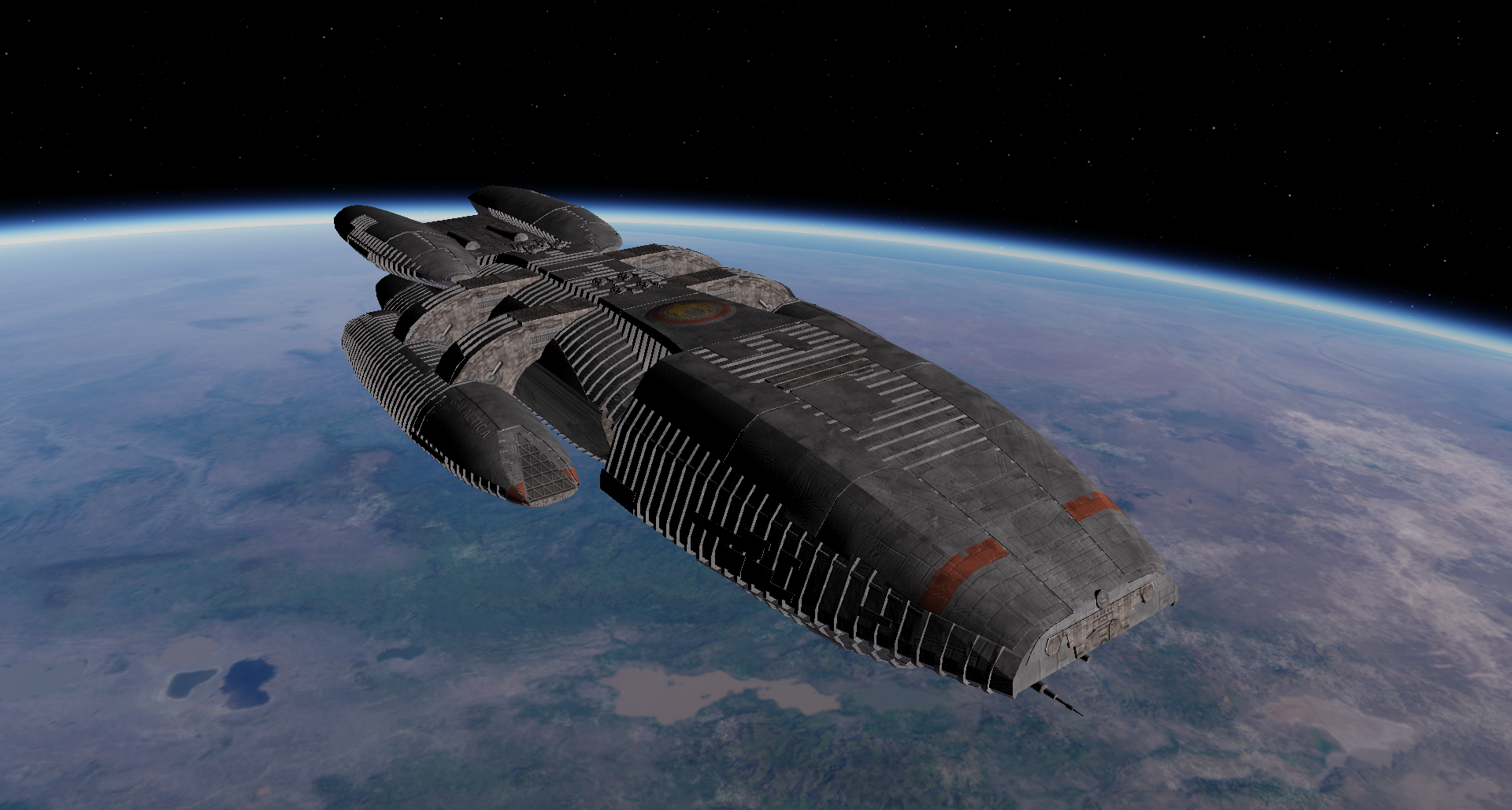 Battlestar Poseidon | Battlestar galactica, Spaceship art  |Battlestar Galactica Spacecraft